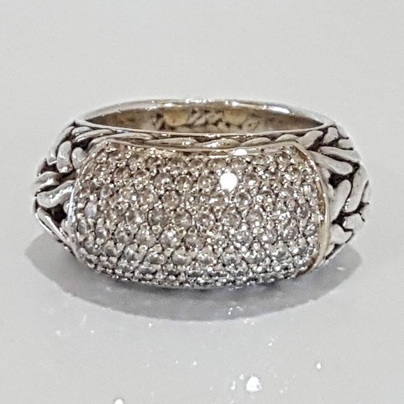 06eb4c0ca John Hardy Jewelry - John Hardy Diamond Classic Chain Ring 4.5